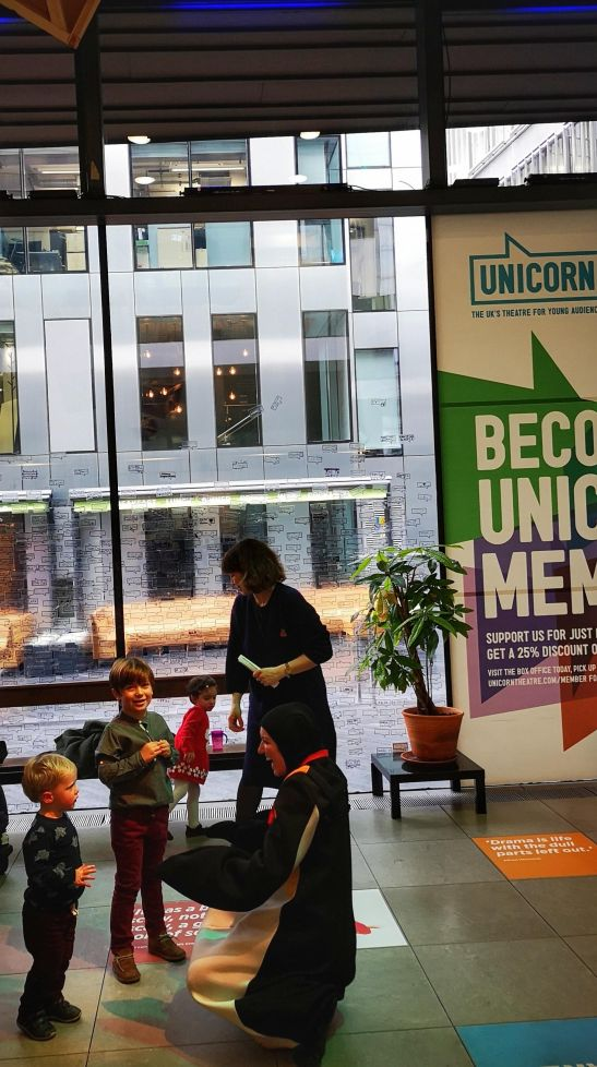 Best of toddler shows London : Unicorn Theatre London Bridge