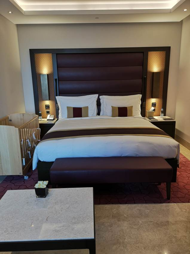 Kempinski Hotel Muscat delux rooms