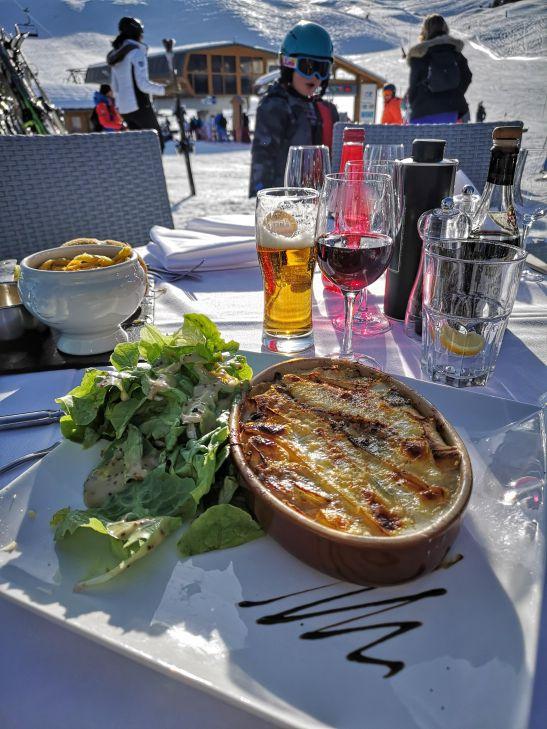 Lunch on slopes : La Casserole