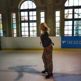 Alexandra Palace - indoor ice rink London