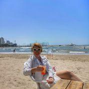 Tel Aviv Hilton beach bar