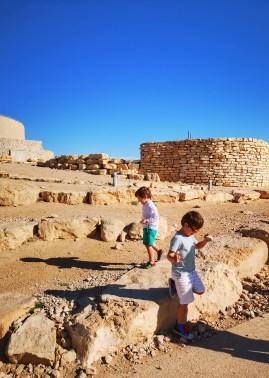 Mitzpe Ramon crater & stones - 10 days Israel and Jordan