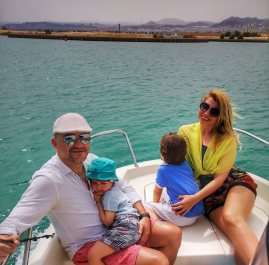 Sailing with the kids