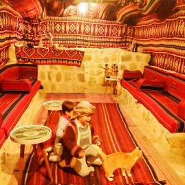 Little bedouins in Little Petra - Bubblehotel