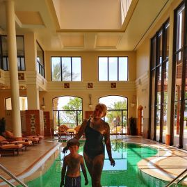 Dead Sea Marriott spa