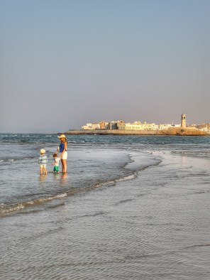 Oman Sur with kids