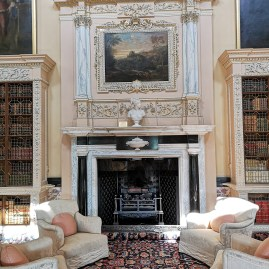 Blenheim Palace library