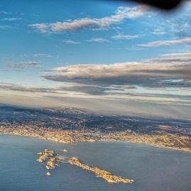 Marseille by plane