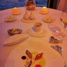 luxury holidays in Marseille :Le Petit Nice dining 3 star Michelin with Gerald Passedat - just wow