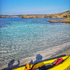Menorca long weekend kayaking Es Grau