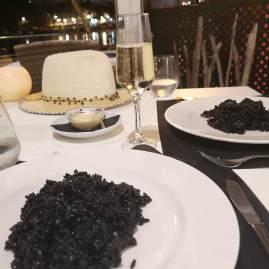 Es Castell Menorca dinner aroz negro