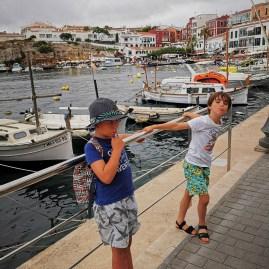 Es Castell Menorca with kids
