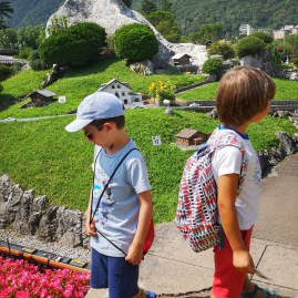 Swissminiatur lugano Switzerland with kids