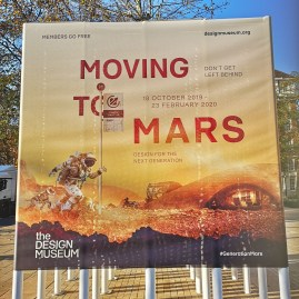 Design Museum with kids - Moving to Mars exhibition - a must see!