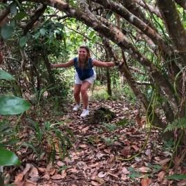 Trekking Kempinski Seychelles with kids