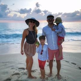Intendance beach Mahe with kids