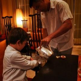 Best restaurants in Mahe Seychelles : Saffron with kids