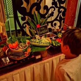 Banyan Tree Thai with kids: Saffron