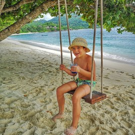 Kempinski Seychelles with kids
