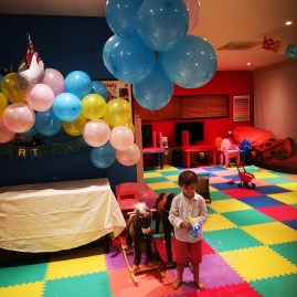 Kempinski Seychelles with toddler - kidsclub party
