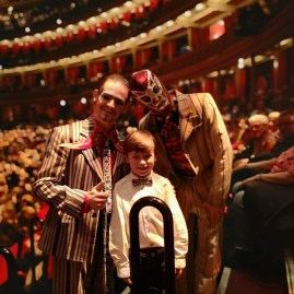 London in February with kids : Luzia at RAH
