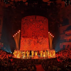 Mexic in London : Luzia @ RAH