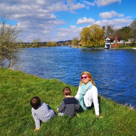 The new times of Covid 19 #CulturedKids 54 - Thames path - culture in quarantine
