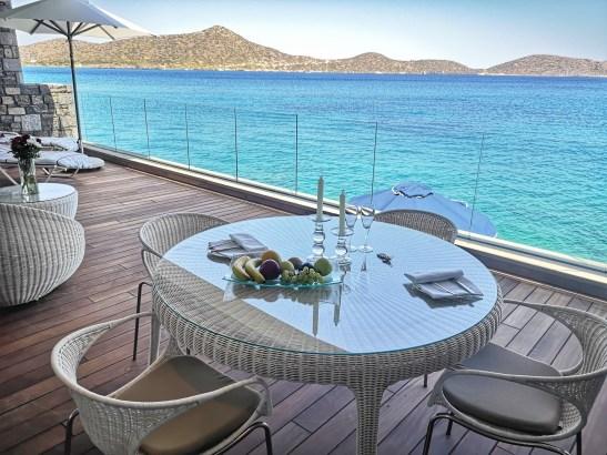 Heaven at sea level: luxury villas Elounda Beach Hotel Greece