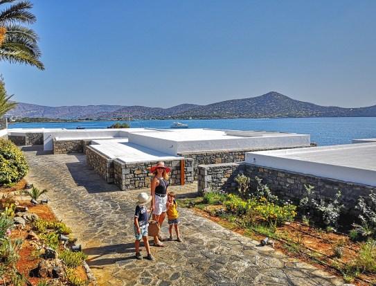 Elounda beach seafront villas