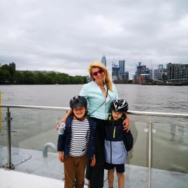 Birthday treats with kids: Battersea Power Station