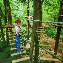 Children's birthday party London with Go Ape