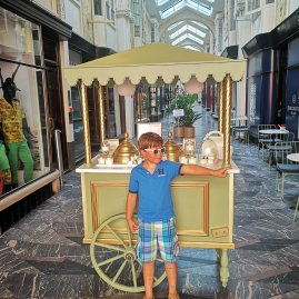 Birthday treats with kids: La Duree Burlington