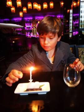 Birthday lunches with kids: Buddha Bar for sushi addicted children