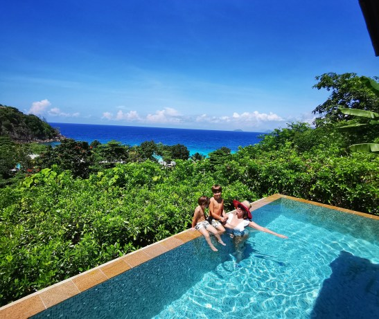 Best family holiday Seychelles: Four Seasons Mahe with kids