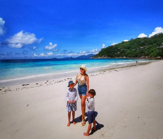 Petite Anse : Four Seasons Mahe with kids