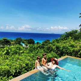 Best of Seychelles island hopping : Four Seasons Mahe