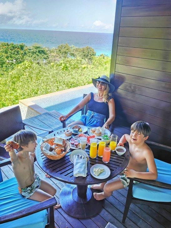 Four Seasons Mahe best villa breakfasts
