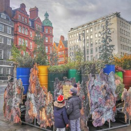Cultured Kids - Temporary Retention Site Streetart Mayfair