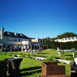 Hilton Arundel garden