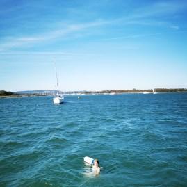 Swimming Chichester estuary