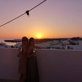 Best dinners and sunsets in Menorca at Bambu