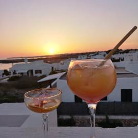 Best cocktails and sunsets in Menorca at Bambu