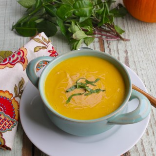 paleo thai pumpkin soup