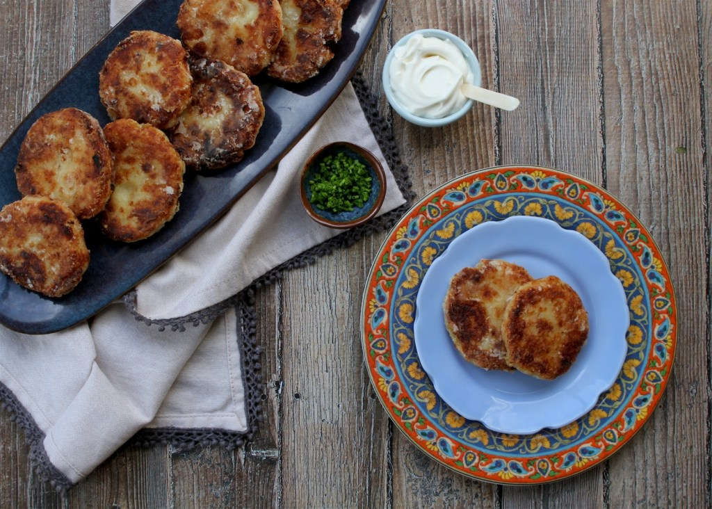 mashed potato latkes