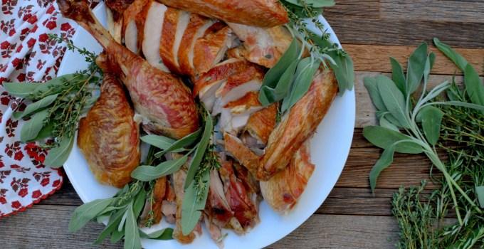 Fresh Herb Dry Brined Turkey & Gravy