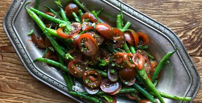 Green Bean Salad with Tomato Vinaigrette