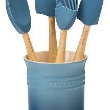 crock + utensils
