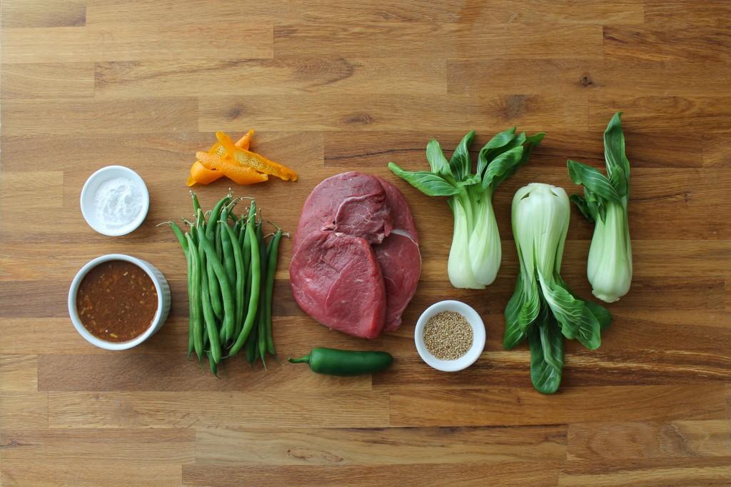 paleo orange ginger beef stir fry