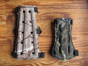 Armguards come in all shapes and sizes.
