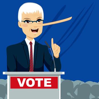 lies politician